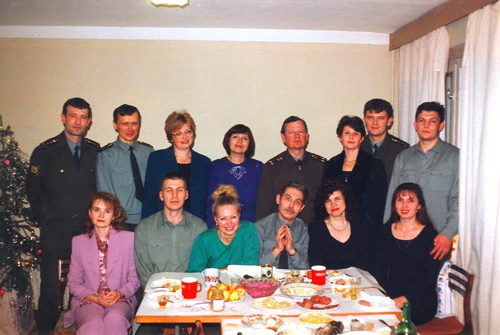 Новогоднее празднование (фотосъемка 2002 года)