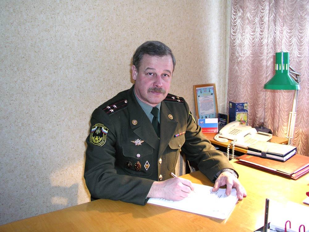 Начальник ИПЛ УГПС МЧС по Республике Мордовия с 1980 по 2006 г.г. Лукшин Александр Вячеславович