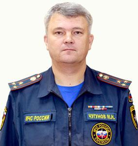 Чугунов Михаил Николаевич Начальник ИПЛ по Республике Мордовия