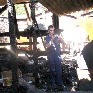 Фотосъемка на пожаре