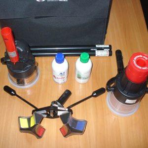 Комплект для проверки дымовых, тепловых пожарных извещателей и извещателей с сенсором СО КППИ-1