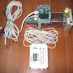 Контроллер и приемный резервуар (колба)