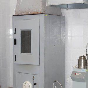 Установка для испытания строительных материалов на горючесть «Шахтная печь»