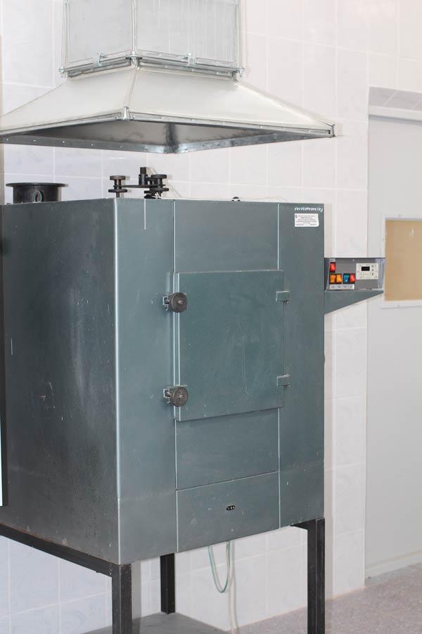 Установка для определения коэффициента дымообразования твердых веществ и материалов «Дым»
