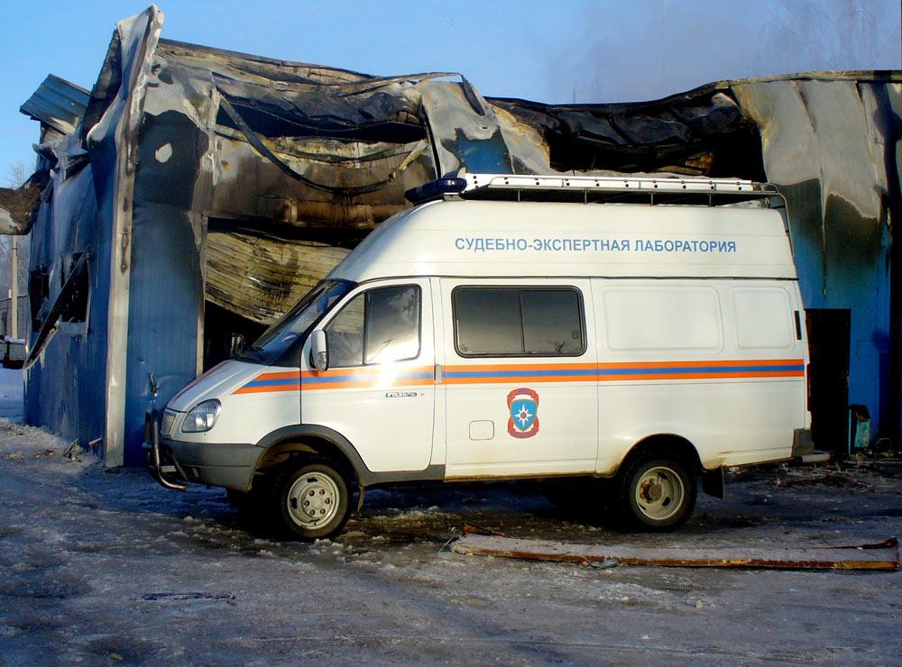 Судебно-экспертный автомобиль ИПЛ Мордовии