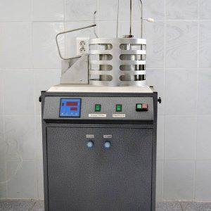 Установка для определения температуры воспламенения и самовоспламенения твердых веществ и материалов