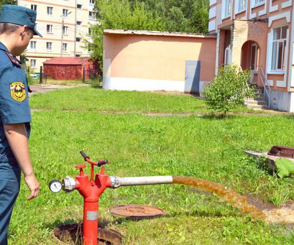 Испытание наружного противопожарного водопровода на водоотдачу производится для оценки степени его пригодности для тушения пожаров в г. Саранск и Республике Мордовия