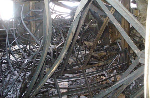 Разрушение металлических конструкций