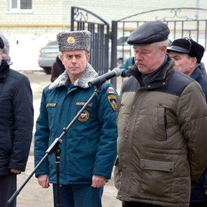 Выступление первого начальника Лукшина А.В.