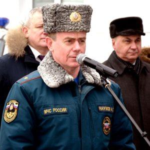 Выступление начальника ГУ МЧС России по Республике Мордовия Наумова А.Г.