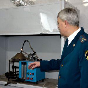 Демонстрация испытательного оборудования