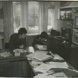 Фотосъемка 1993 года (Планов В.И. и Ефремов А.Г.).