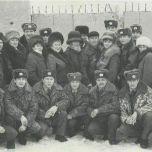 На отработке населенных пунктов Ичалковского района (фотосъемка 90-х годов)