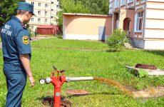 Испытание наружного противопожарного водопровода (пожарных гидрантов)
